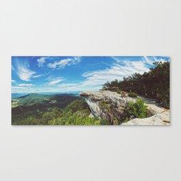 McAfee Knob •Appalachian Trail Canvas Print