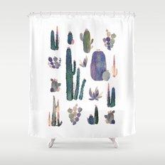 my best cactus!! Shower Curtain