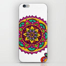 Mandala flores iPhone Skin