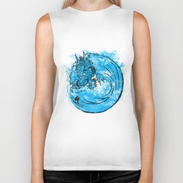 Dragon Waves Biker Tank