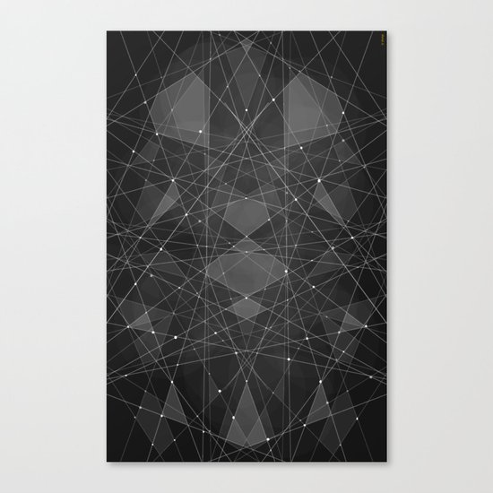 Constellations 2 Canvas Print
