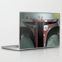 boba Laptop & iPad Skins featuring boba fett by designoMatt