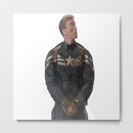 THE PRICE OF FREEDOM - Steve Rogers Metal Print
