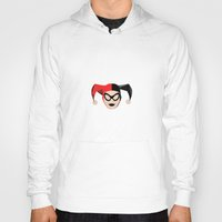 harley quinn Hoodies featuring Harley Quinn by Electra