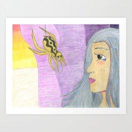 Spider Woman Art Print