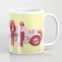 60s Mugs featuring The 60s by Jessie J. De La Portillo