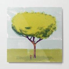Her Tree Metal Print