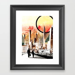 Don't Forget a Towel Framed Art Print