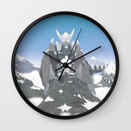 Earth Dragon Wall Clock