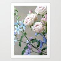 lovely flowers Art Print