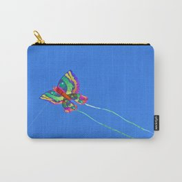 High Flying Butterfly Kite Carry-All Pouch