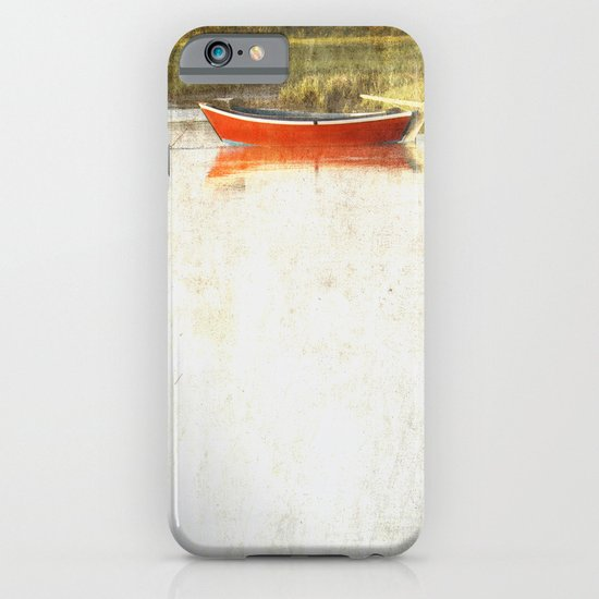 Red metal iPhone & iPod Case
