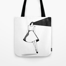 Listen to her space Tote Bag