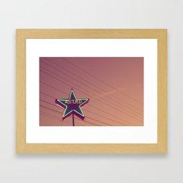 Astro 3 Framed Art Print