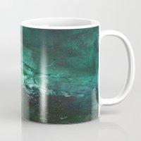 emerald Mugs featuring Emerald by Judy Applegarth