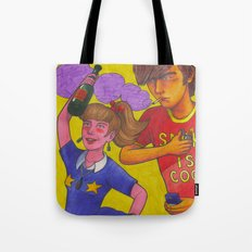 Belomor Boy vs. Stella Artois Girl Tote Bag