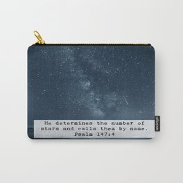 Counts the Stars Carry-All Pouch