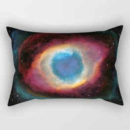 Helix (Eye of God) Nebula Rectangular Pillow