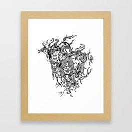Melancholic Framed Art Print