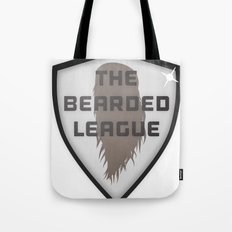 The Bearded League Tote Bag