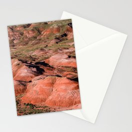 Beautiful Landscape of Painted Desert in Arizona Stationery Cards