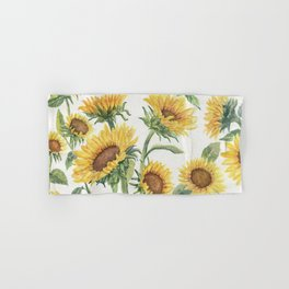 Blooming Sunflowers Hand & Bath Towel