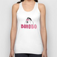 u2 Tank Tops featuring BONObo by Adrienne S. Price