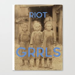 Riot GRRLS Canvas Print