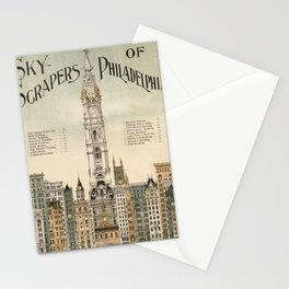 Vintage poster - Philadelphia Stationery Cards