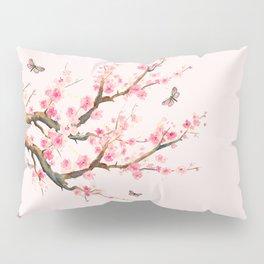 Pink Cherry Blossom Dream Pillow Sham