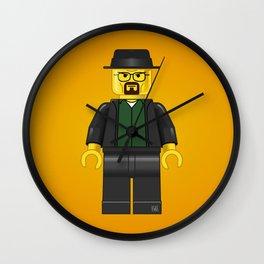Lego Walter White - Vector Wall Clock