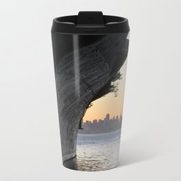 Aircraft carrier Hornet San Francisco Travel Mug