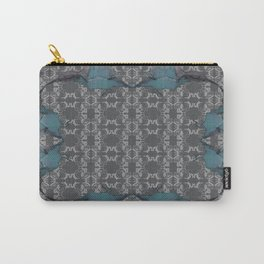The Kingfisher - Teals Carry-All Pouch