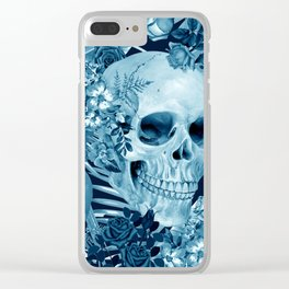 tropic skull Clear iPhone Case