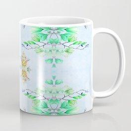 Crisp Spring Floral Traditional Watercolor Coffee Mug