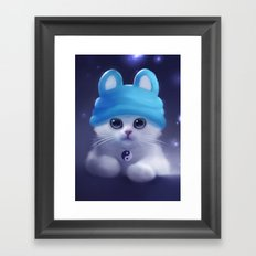 Yang The Cat Framed Art Print