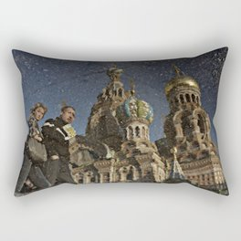 The Church of the Savior on Spilled Blood, St.Petersburg, Russia. Rectangular Pillow