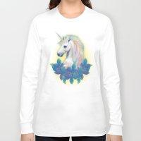 unicorn Long Sleeve T-shirts featuring Unicorn by ShannonPosedenti