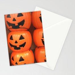 Pumpkin Pails Stationery Cards