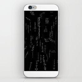 Mathspace - High Math Inspiration iPhone Skin