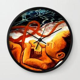 Latin america street art Wall Clock