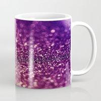 glitter Mugs featuring glitter by Shanna Dunn