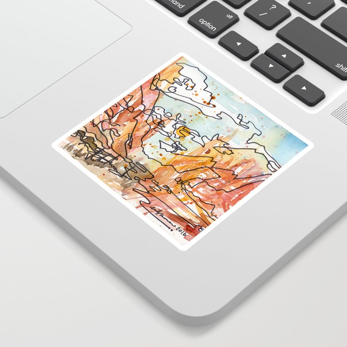 Wildfire Sticker
