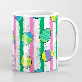 Easter splatter stripe Coffee Mug