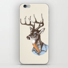 Lucienne the crying deer (with tattoos) iPhone & iPod Skin