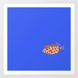 Box Fish Art Print