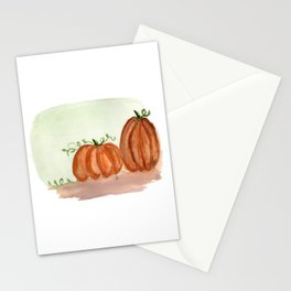 Fall Pumpkins Stationery Cards