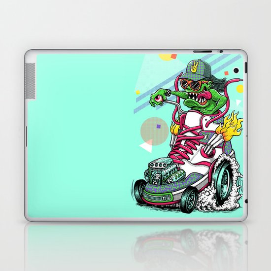 RIDE IT, KICK IT! Laptop & iPad Skin