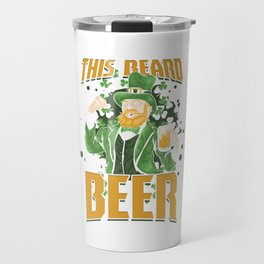 St Paddy's Brewery Ciders Irish Ireland Gift Beer St Patrick's Day Travel Mug