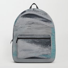"""Wind And Water"" Painting1of 2 - Elements Series Backpack"